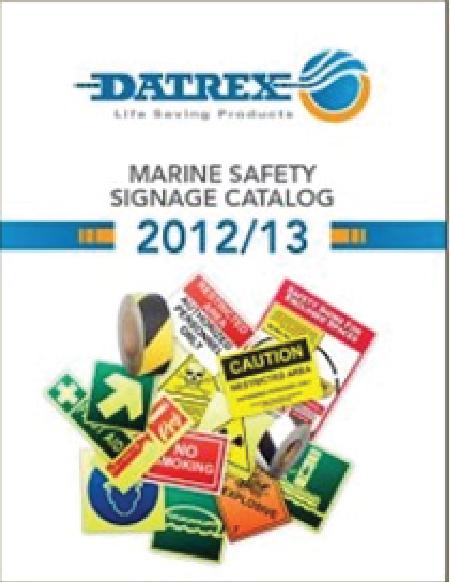 Datrex Signage Catalog 2013