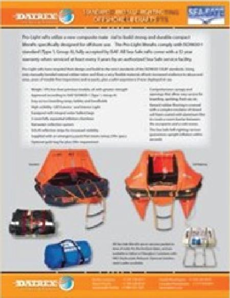 SeaSafe Liferaft Flyer
