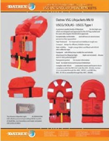 VSG Life Jacket Flyer